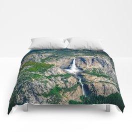 Yosemite Falls Comforters