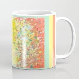 Falling Leaves in Sunlight Watercolour Coffee Mug