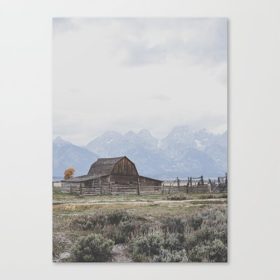 Mormon Row Canvas Print