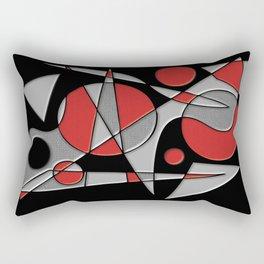 Abstract #284 Paladin Rectangular Pillow