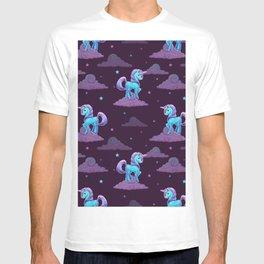Cute Unicorn Pattern T-shirt