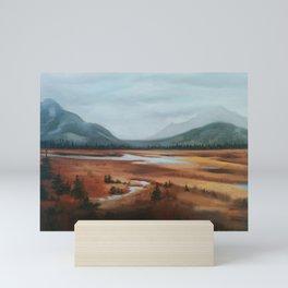 Cave and Basin Mini Art Print