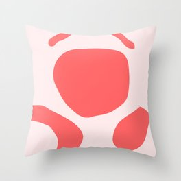 Pink Study No. 1 Throw Pillow