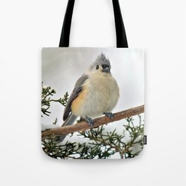 I Am Titmouse. Hear Me Roar! Tote Bag