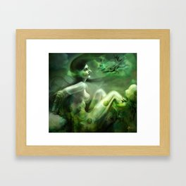 Aquatic Creature Framed Art Print