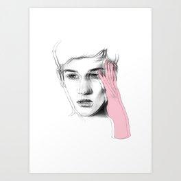 B lur Art Print