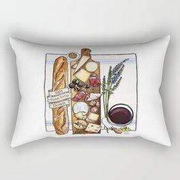 Pardon My French Rectangular Pillow