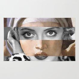 Michelangelo's Sybilla Delfica & Bette Davis Rug