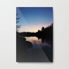 Sunset - Killarney Provincial Park, ON, Canada Metal Print