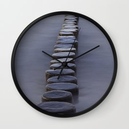 Groyne Wall Clock