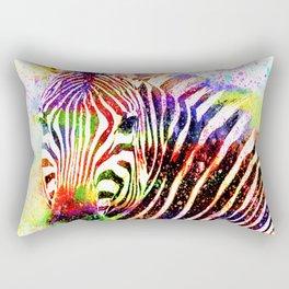 ZEBRA ABSTRACT Rectangular Pillow