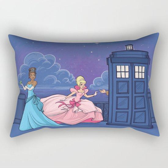 The Princess and the Doctor Rectangular Pillow