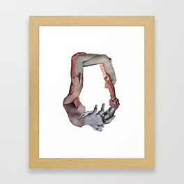 O Framed Art Print