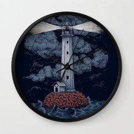 Light Up Your Brain Wall Clock