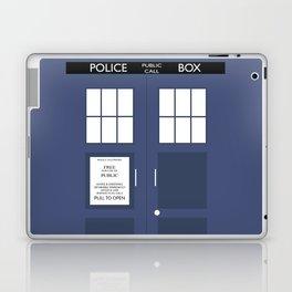 Smaller On The Outside Tardis Laptop & iPad Skin