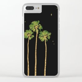 Night In Paradise Clear iPhone Case