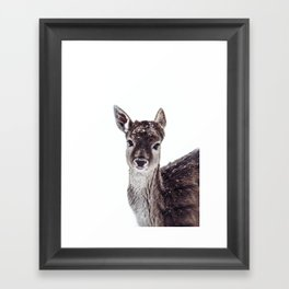 LITTLE FAWN FIONA Framed Art Print