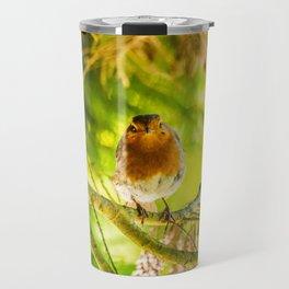 Curious Robin Travel Mug