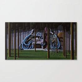 The Gateway to Her Canvas Print