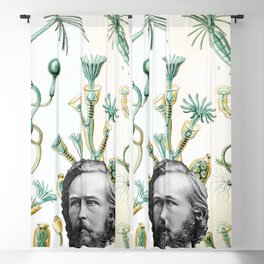 Ode to Haeckel Blackout Curtain