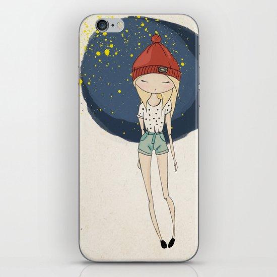 Ange - Fashion illustration iPhone & iPod Skin