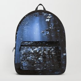 Blue Floating Sun Backpack