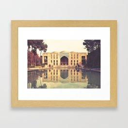 Esfahan, iran Framed Art Print