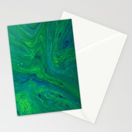 POUR ART 4 Stationery Cards