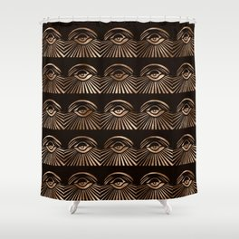 The Eyes of Manon Shower Curtain