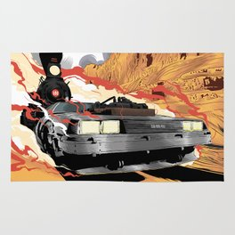 Back to the Future III (Three) Rug