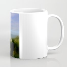 Limestone cliffs looking out to the Great Southern Ocean Coffee Mug