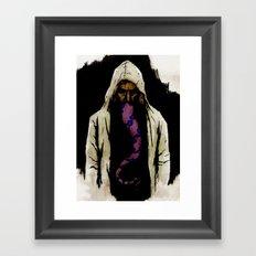 The Unfortunate Man Framed Art Print