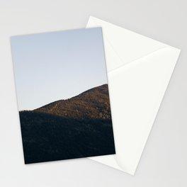 mountain sunrise Stationery Cards