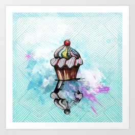 ColorCake Art Print