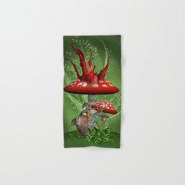 Fairy Mushrooms Hand & Bath Towel