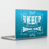 gatsby Laptop & iPad Skins featuring Gatsby Quote by irosebot