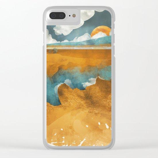 Desert River Clear iPhone Case