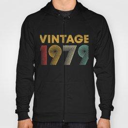 Vintage 1979 42nd Birthday 42 Years Old Hoody