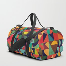 Color Blocks Duffle Bag