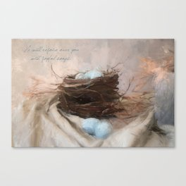Bird Nest 1 Canvas Print