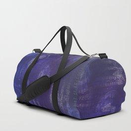 Sheet Music - Mixed Media Partiture #1 Duffle Bag