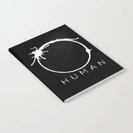 Arrival - Human with title Notebook