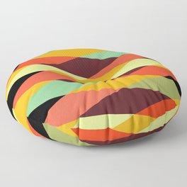 Geometric Pattern #28 (crisscross) Floor Pillow
