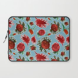 Australian Native Floral Pattern Laptop Sleeve