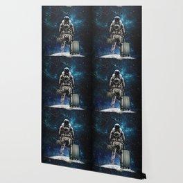 Space Traveller Wallpaper