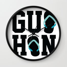 Guahan Zories Wall Clock