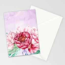 Flowers bouquet 63 Stationery Cards