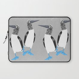 Blue-footed booby Laptop Sleeve