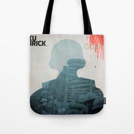 Paths of Glory, Stanley Kubrick, movie poster, Kirk Douglas, Orizzonti di Gloria, WWI war movie Tote Bag