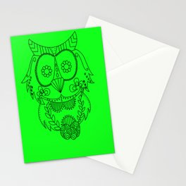 Owl of the Day Stationery Cards